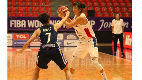 2021年女篮亚洲杯 中华台北74:80不敌韩国