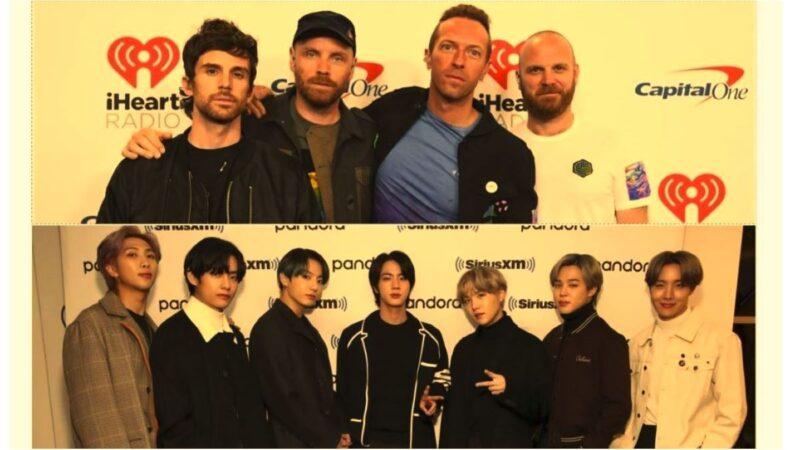 BTS与Coldplay合作曲 登告示牌HOT 100榜冠军