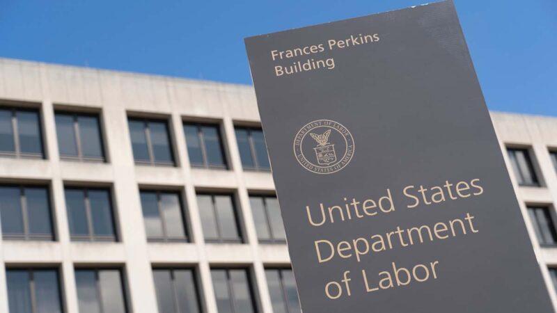 美勞工部:申請失業救濟金人數大幅下降