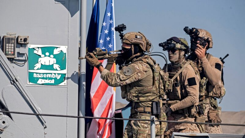 消息:美特种部队秘驻台湾一年 协助训练台军