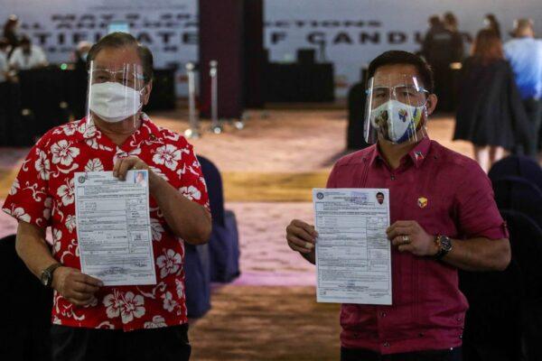 菲律賓明年大選 前拳王登記參選 杜特爾特退選