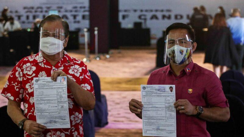 菲律宾明年大选 前拳王登记参选 杜特尔特退选