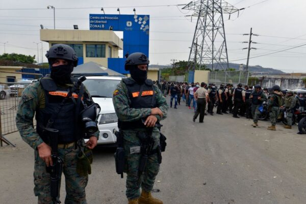 精銳部隊進駐 厄瓜多爾監獄再傳暴動4傷