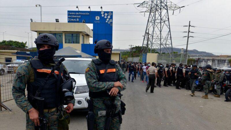 精锐部队进驻 厄瓜多尔监狱再传暴动4伤