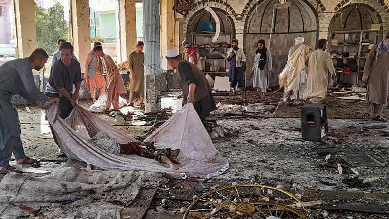 阿富汗清真寺致命爆炸 据报百人丧生
