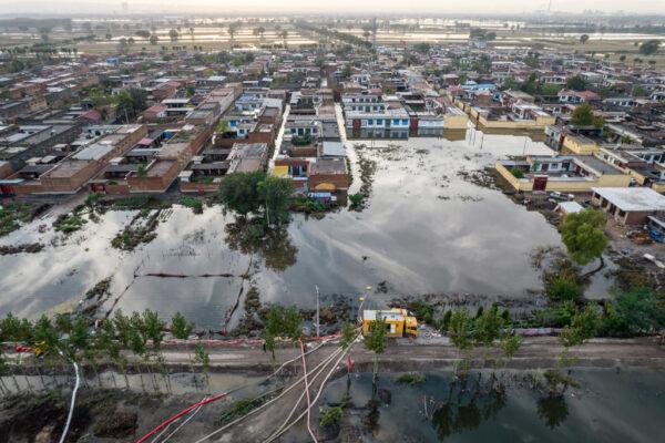 山西、陝西洪水百萬人受災 至少27人死亡