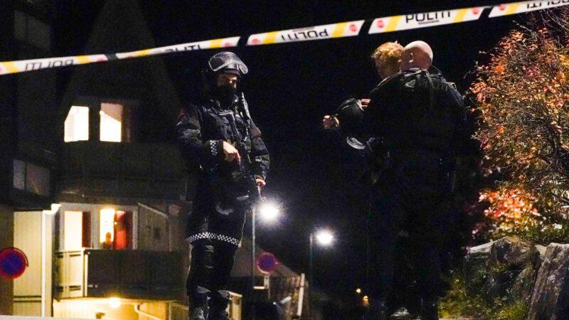 挪威男子持弓箭殺人被捕 釀數死多傷
