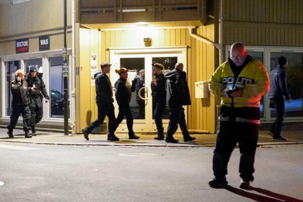 挪威弓箭袭击酿5死2重伤 丹麦犯嫌落网