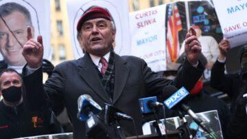 长年维护治安 纽约市长候选人斯利瓦获华人支持