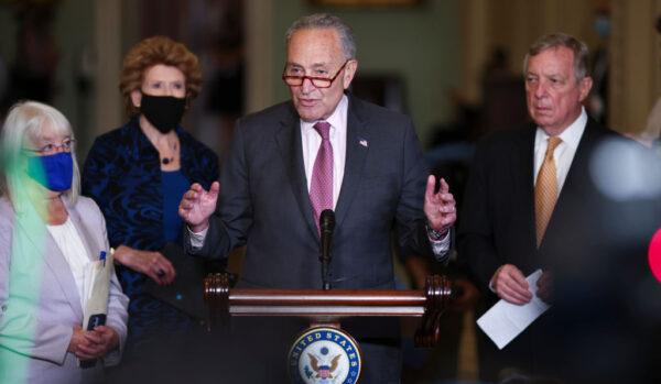 美参院两党领袖支持短期拨款 金援政府至12月初