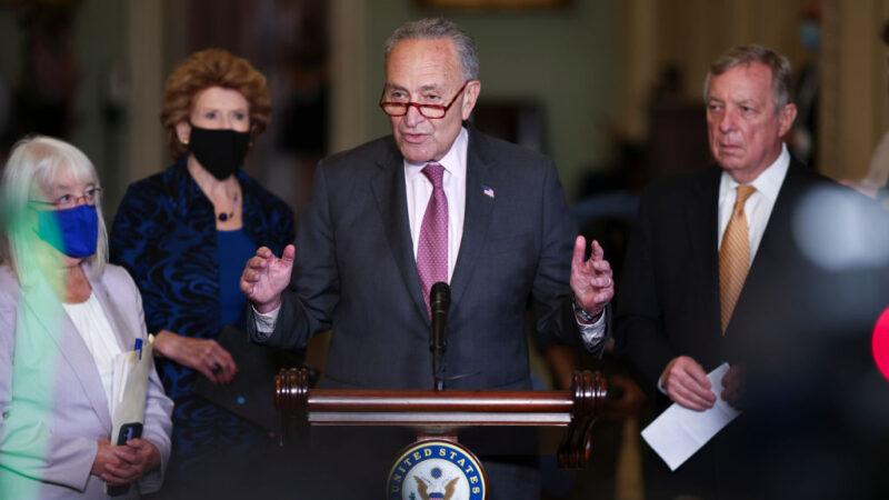 美參院兩黨領袖支持短期撥款 金援政府至12月初
