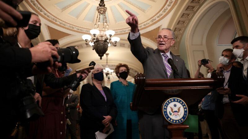 美參院達成短期債務上限協議 緩解政府爆雷