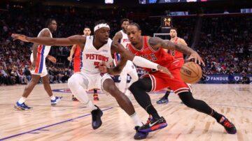 NBA公牛險勝猛龍 東區開季唯一不敗