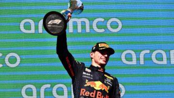F1美国站 维斯塔潘杆位登顶 以12分优势领跑