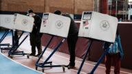 纽约市提前投票 居民联盟吁五项公投选No