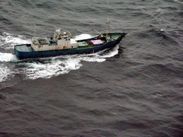 朝鮮船隻攜對空飛彈裝備 曾現蹤日本漁場