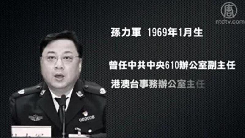 副部級官員正國級罪名 孫力軍到底犯了什麼事?