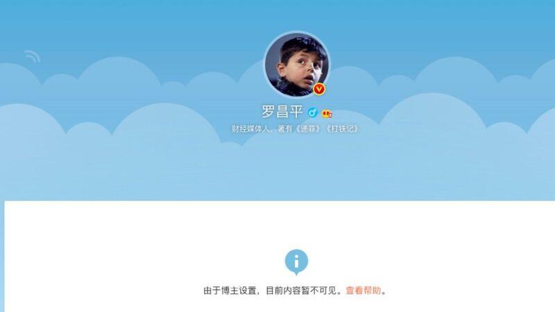 质疑《长津湖》 大陆知名媒体人罗昌平被刑拘