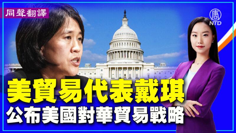 【重播】美贸易代表戴琪公布美国对华贸易战略