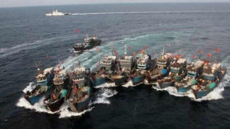 一艘中国渔船在韩国近海沉没 12人获救3人失踪